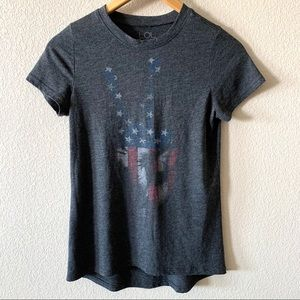 Patriotic Peace Sign Graphic Tee